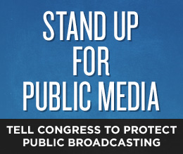 Stand up for Public Media